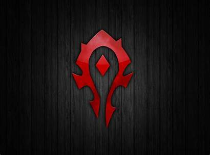 Horde Wallpapers Wall Wow Symbol Warcraft Deviantart