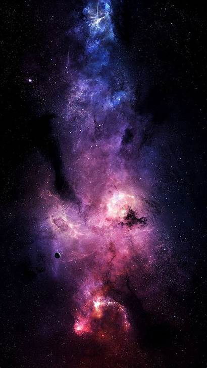 Space Galaxy Sky Rainbow Stars Iphone Fondos
