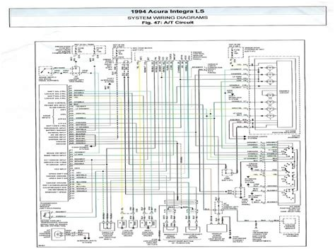 Acura Integra Radio Wiring Diagram Forums