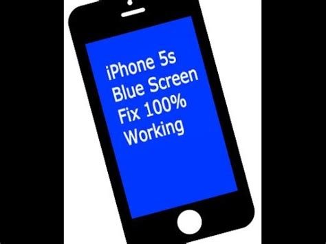 blue screen of iphone 5s iphone 5s blue screen of fix 100 working