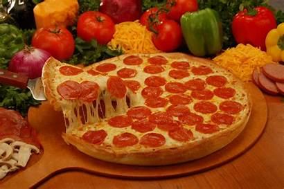Pizza Pepperoni Wallpapers Sausage Olive Mushroom Italian