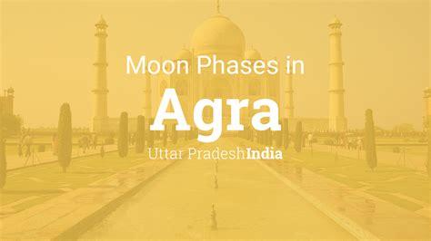 moon phases  lunar calendar  agra uttar pradesh