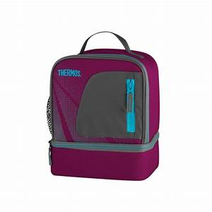 Lunch Bag Isotherme : sac isotherme lunch bag dual compartiment rose radiance thermos ~ Teatrodelosmanantiales.com Idées de Décoration