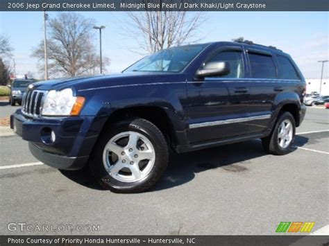 light blue jeep grand cherokee midnight blue pearl 2006 jeep grand cherokee limited