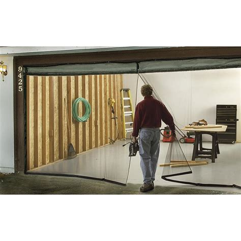 garage screen door single garage door screen 135013 garage tool