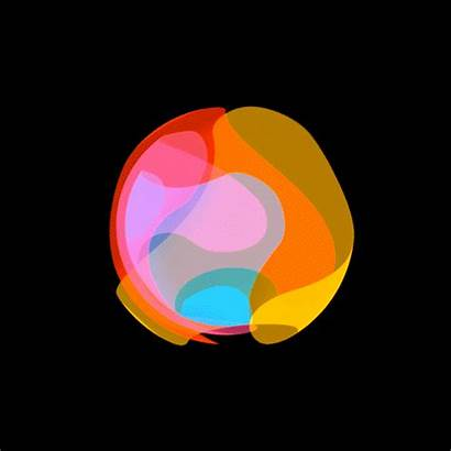 Gifs Davidope Electronic Animated Animation Sphere Colorful