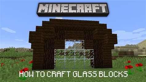 how to craft glass in minecraft minecraft tutorial how to make windows crafting glass 7782