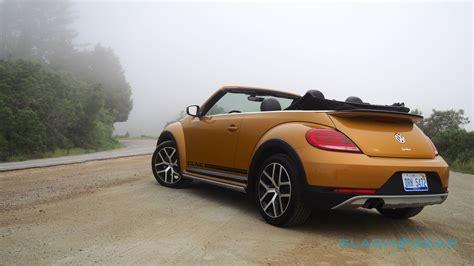 volkswagen convertible 2017 volkswagen beetle dune convertible review slashgear