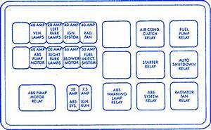 Eagle Premier 1992 Relay Fuse Box    Block Circuit Breaker