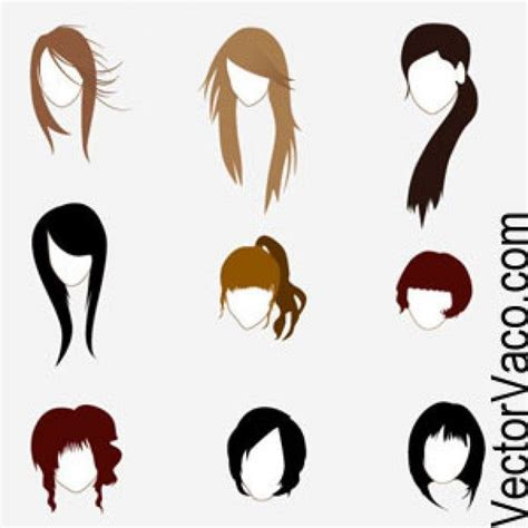 animated hair styles hairstyles hair 8468