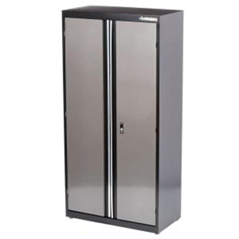 home depot kitchen storage cabinets husky 36 in x 72 in welded floor cabinet kf3f361872 h9 7132