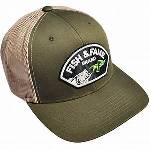 Fish and Fame Plastic Snapback Trucker Style Meshback ...