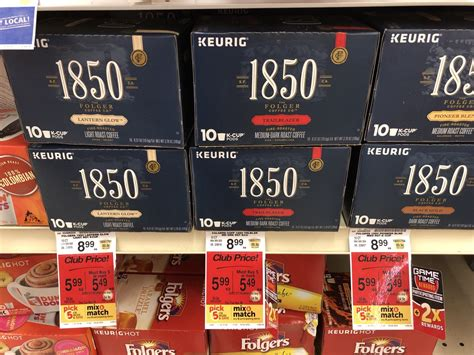Folgers coffee only $1.99 @ walgreens starting 3/31. Folgers K-Cups $4.24 with Sale and Coupon and 2x Grocery and Gas Reward Points - Super Safeway