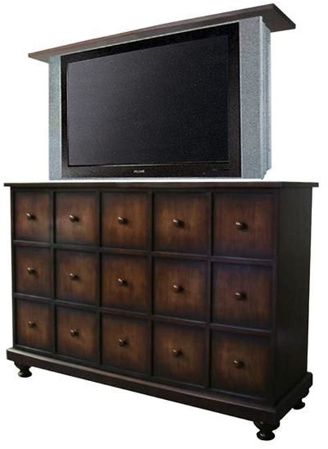 tv cabinet hidden tv lift hidden tv for master apothecary tv lift cabinet from the