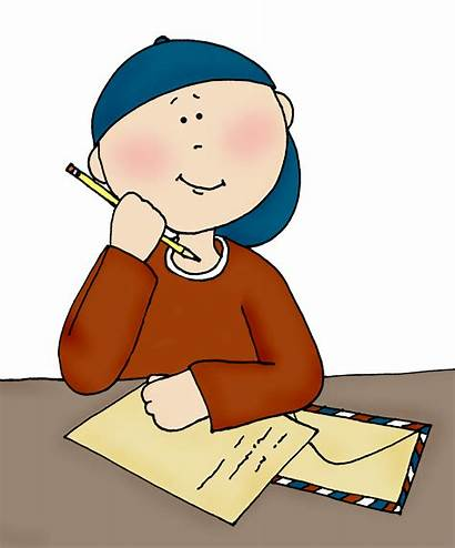 Writing Clipart Boy Reading Animated Written Student