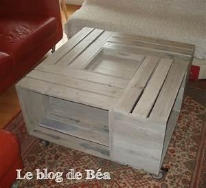 Modele De Table Basse A Faire Soi Meme : pas pas table basse bar le blog de b a ~ Melissatoandfro.com Idées de Décoration