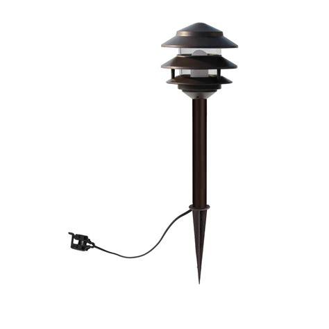 integrated led outdoor lighting low voltage 2 4 watt remington bronze outdoor integrated