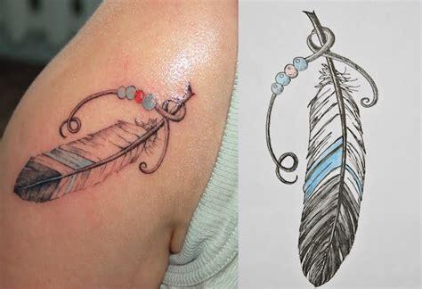 Tatouage Sur L épaule 1001 Significations Et Designs Du Tatouage Plume Impressionnant