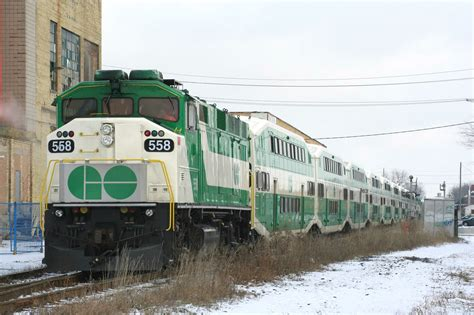 Railpicturesca  Kevin Flood Photo Go Transit's First