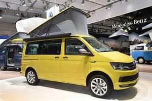 Camping Car Volkswagen : le nouveau visage d 39 un mythe le vw california sur t6 ~ Melissatoandfro.com Idées de Décoration