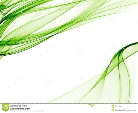 Elegant Background With Soft Green Designs Stock Photo