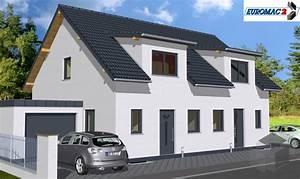 Bungalow Bauen Kosten : doppelhaus bauen kosten klassischer mit satteldach der ~ Lizthompson.info Haus und Dekorationen