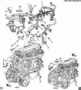2016 Chevrolet Cruze Engine Diagram