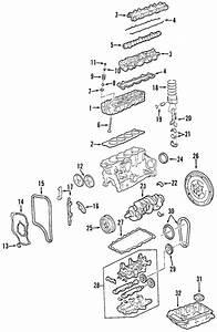 Oem 2000 Oldsmobile Alero Engine Parts