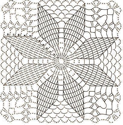 Piastrelle Crochet by Piastrella Quadrata Con Stella Di Natale Crochet Blocks