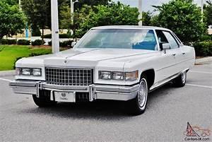 No Reserve All Original 76 Cadillac Sedan Deville Just
