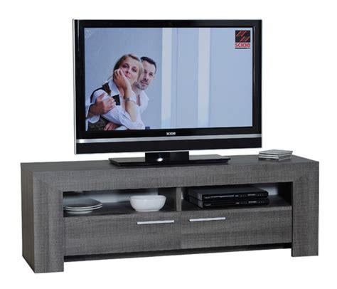 meuble tv gris meuble tv gris fonc 233 lathi 56 lestendances fr
