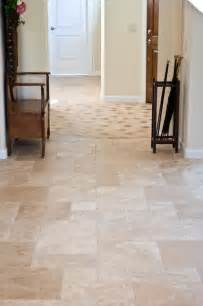 hallway tile flooring traditional hall other metro