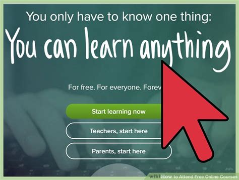 Free Courses by 4 Ways To Attend Free Courses Wikihow