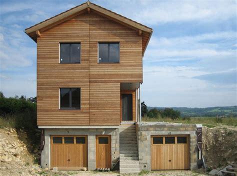 une maison ossature bois dans le jura par cambiums construire tendance