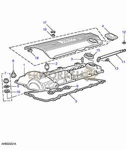 Rocker Cover - 2 8 Bmw M52