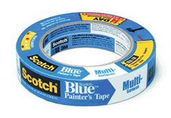 semi weather resistant blue masking tape