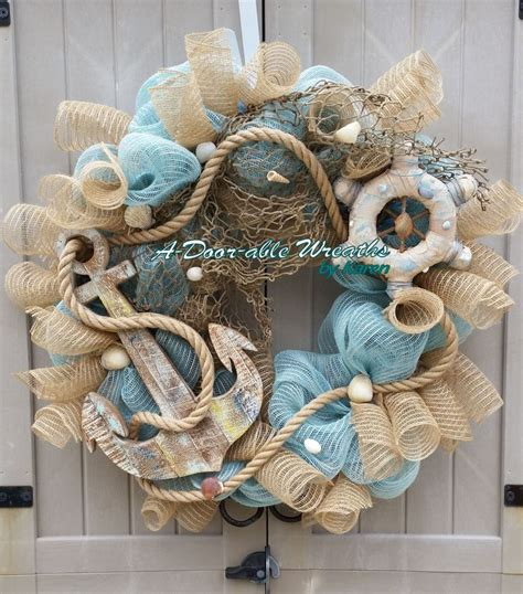coastal door wreaths 373 best wreaths summer coastal nautical