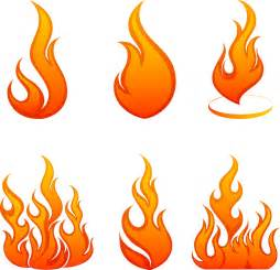 Cartoon Fire Flames