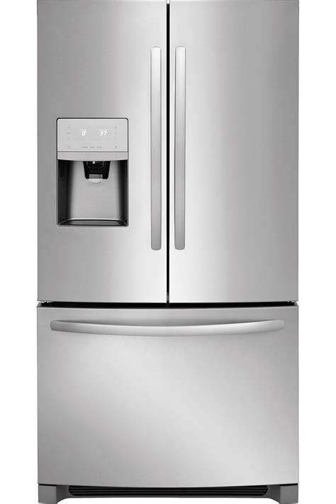 frigidaire stainless french refrigerator ffhbts