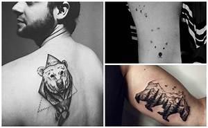 Tatuajes de osos, osos panda, osos polares y su significado
