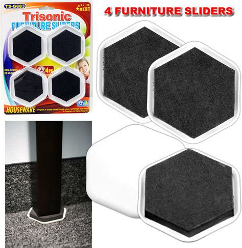 Sliders For Heavy Furniture by 4 Furniture Sliders Gliders Easy Heavy Large Appliance Ebay