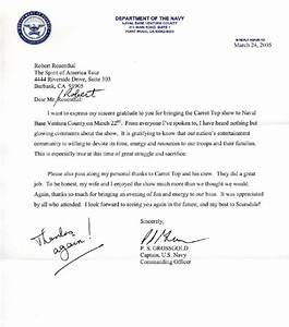 sample navy letter of appreciation how to write a letter With navy letter of appreciation template