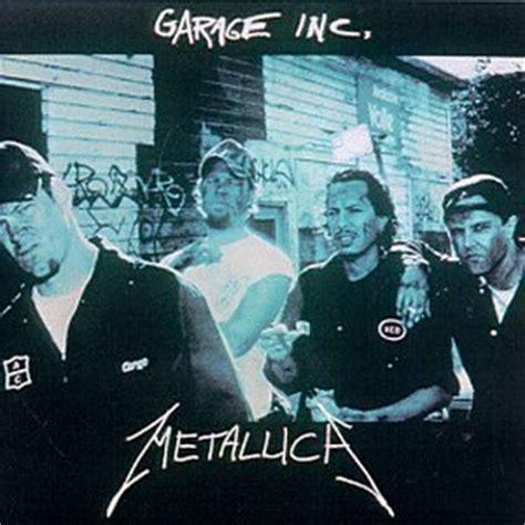 Metallica  Garage Inc Front & Back Cd Cover (1998