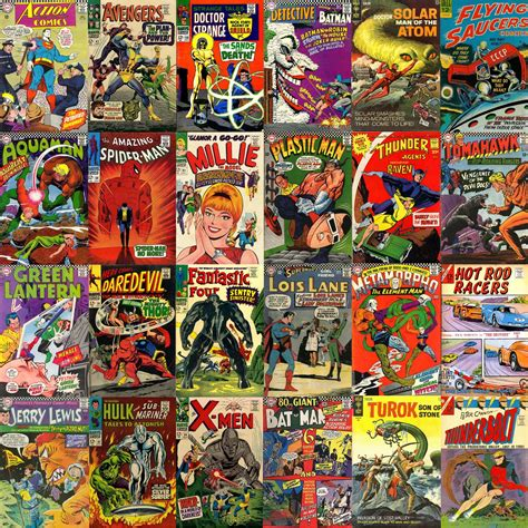 Comic Books With Which I Share A