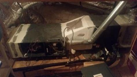 attic installed goodman gmsancc problems system