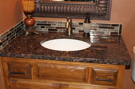 Tan Brown Granite   Traditional   Bathroom   Kansas City