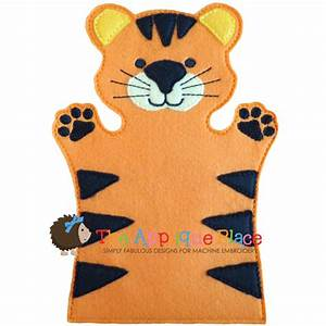 puppet tiger With tiger puppet template