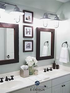 4 steps pick the right white for your trim cabinets or walls for Kitchen colors with white cabinets with mirror framed wall art
