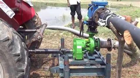 Rovatti tractor PTO gear pump - YouTube