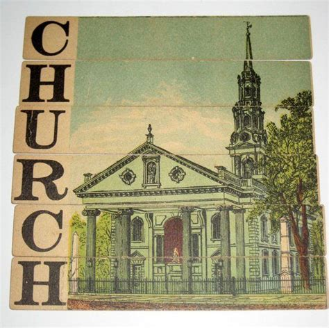 We have 3 possible answers in our database. Antique Word Puzzle Game Pieces - Sliced Objects - Church - for Framing, Altered Art, Collage ...
